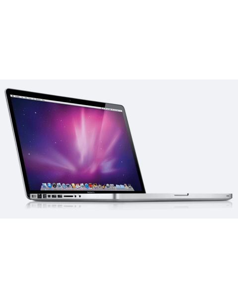 MacBook Pro 15-inch Core i7 2.4 GHz 256 GB SSD 8 GB RAM Zilver (Early 2013)