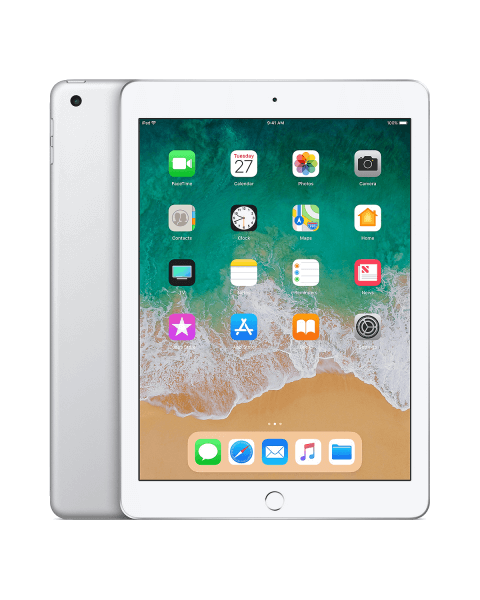 Refurbished iPad 2018 128GB WiFi zilver