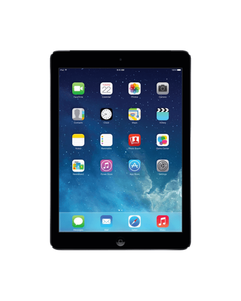 Refurbished iPad Air 1 64GB WiFi zwart/space grijs