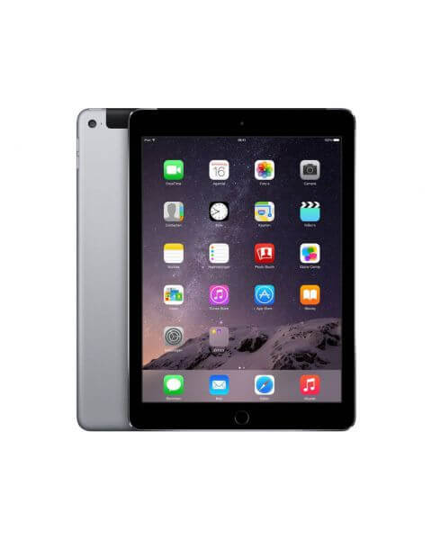 Refurbished iPad Air 2 64GB WiFi + 4G zwart/space grijs