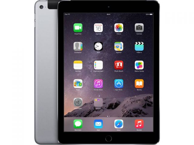 Refurbished iPad Air 2 64GB WiFi + 4G Schwarz/Space Grau