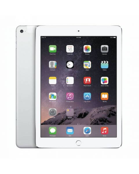 Refurbished iPad Air 2 16GB WiFi + 4G zilver