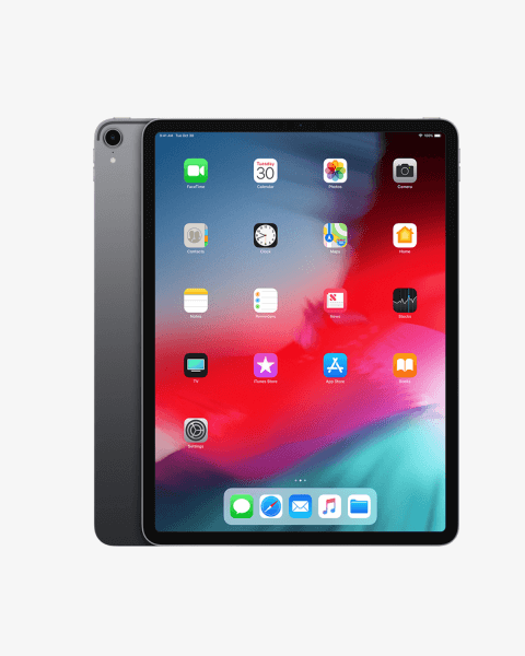 Refurbished iPad Pro 12.9 64GB WiFi + 4G spacegrijs (2018)