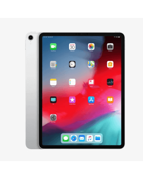 Refurbished iPad Pro 12.9 256GB WiFi + 4G zilver (2018)