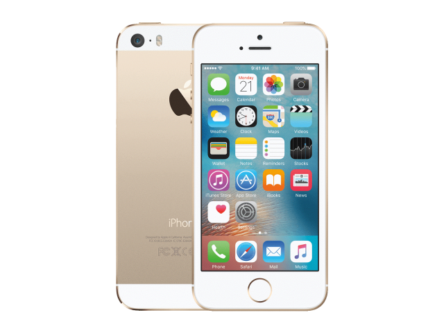 Refurbished iPhone 5S 64GB goud C-grade