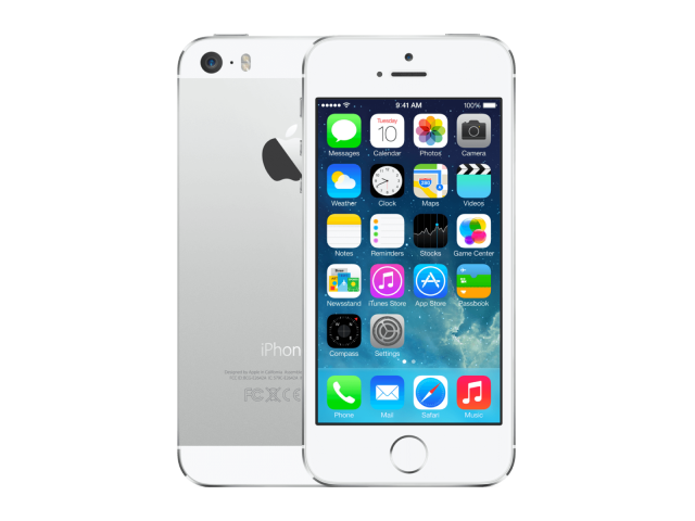 Refurbished iPhone 5S 16GB zilver A-grade