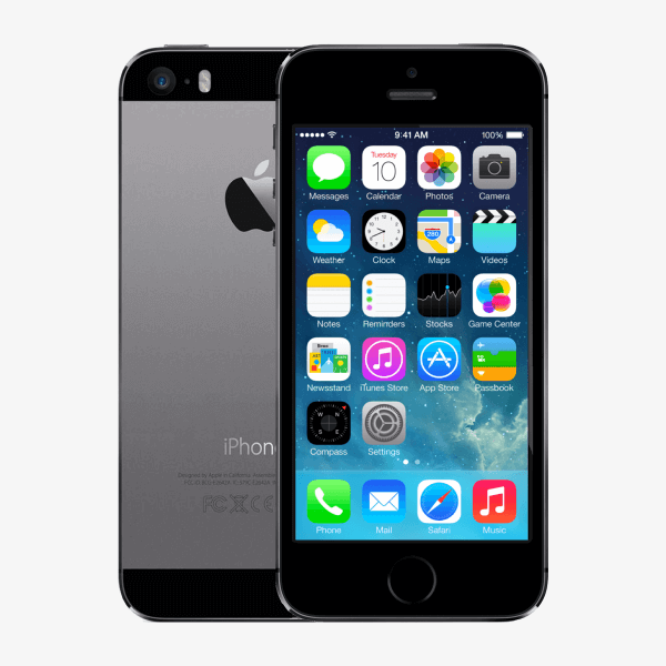 Refurbished iPhone 5S 16GB zwart/space grijs