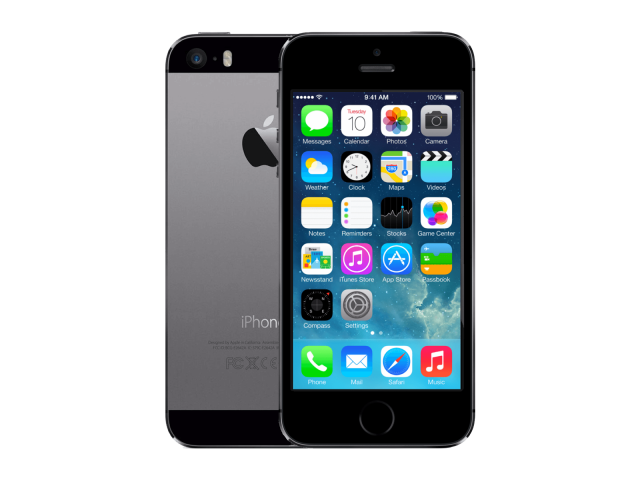 Refurbished iPhone 5S 16GB zwart/space grijs C-grade