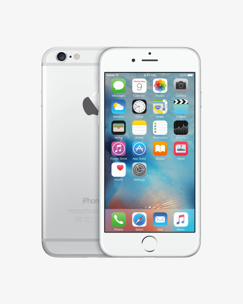 Refurbished iPhone 6 16GB zilver