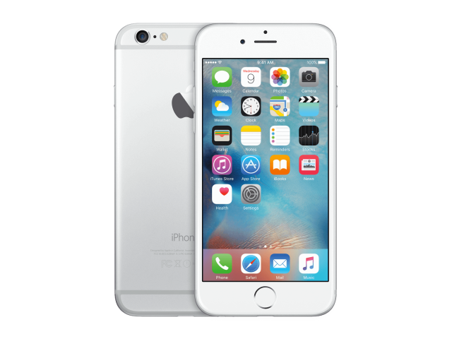 Refurbished iPhone 6 16GB zilver C-grade