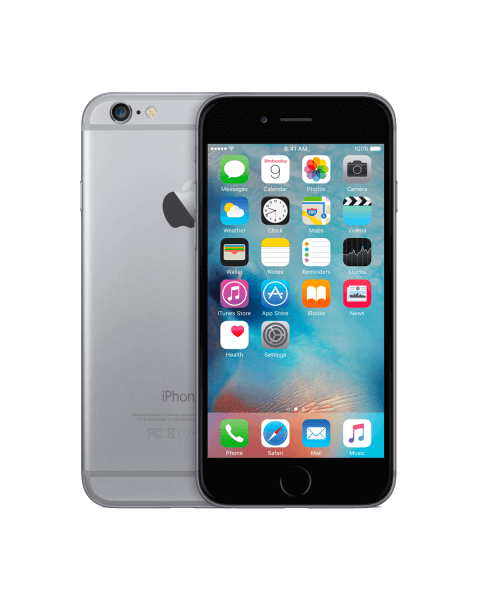 Refurbished iPhone 6 32GB zwart/space grijs