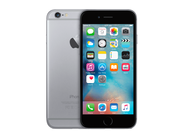 Refurbished iPhone 6 32GB zwart/space grijs C-grade