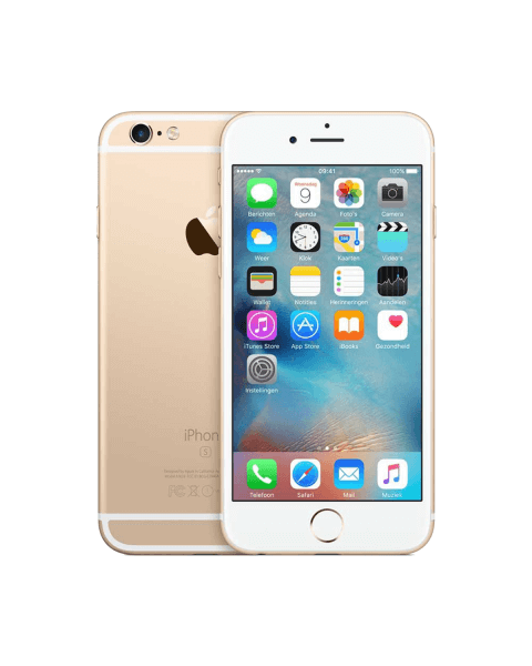 Refurbished iPhone 6S 16GB goud