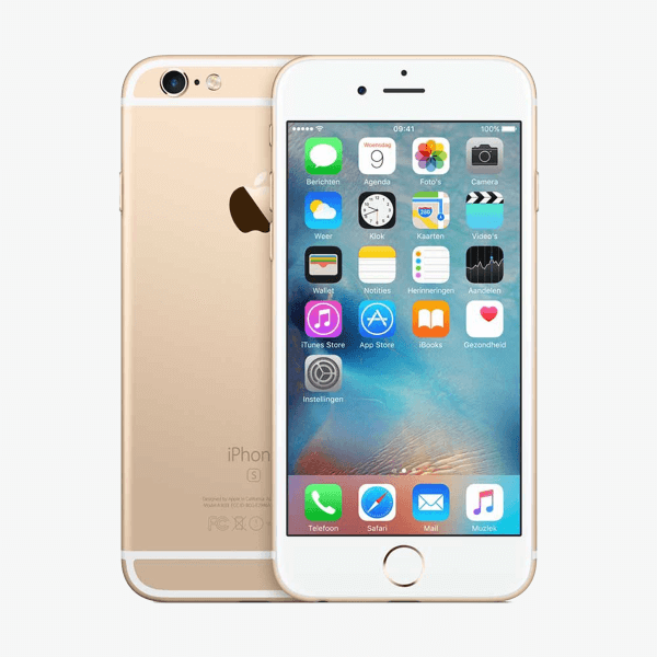 Refurbished iPhone 6S 128GB goud