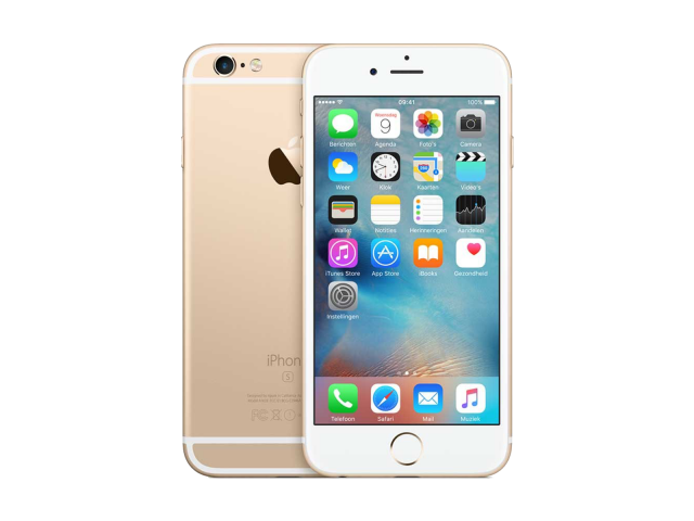 Refurbished iPhone 6S 128GB goud A-grade