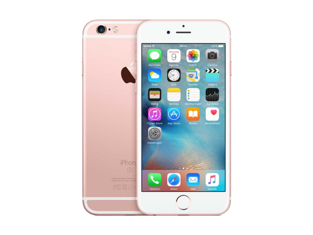 Refurbished iPhone 6S 16GB rosé goud B-grade