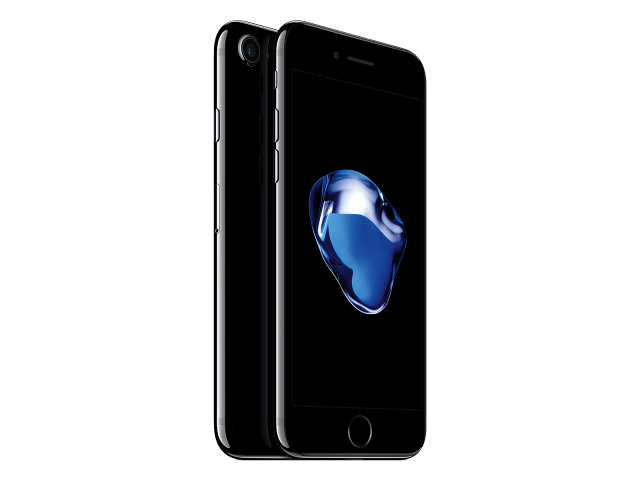 Refurbished iPhone 7 128GB gitzwart B-grade