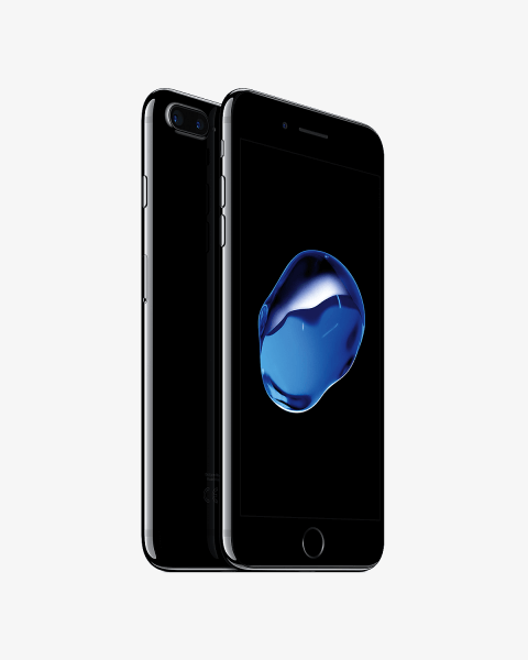 Refurbished iPhone 7 plus 128GB gitzwart
