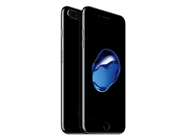 Refurbished iPhone 7 plus 128GB gitzwart A-grade