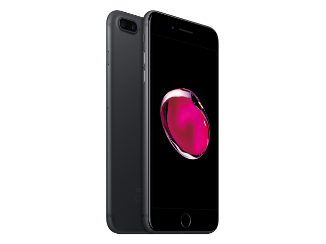 Refurbished iPhone 7 plus 128GB matzwart A-grade