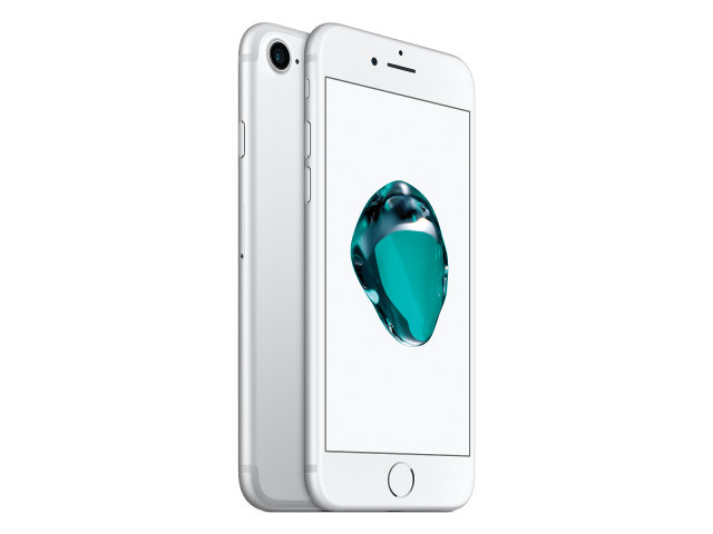 Refurbished iPhone 7 128GB zilver A-grade