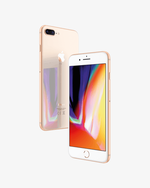 Refurbished iPhone 8 plus 256GB gold