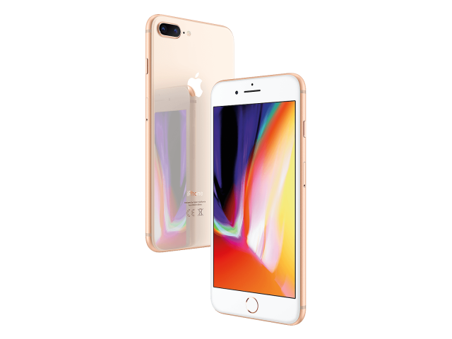 Refurbished iPhone 8 plus 256GB gold A-grade