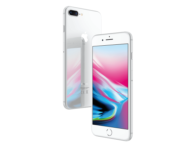 Refurbished iPhone 8 plus 256GB silver A-grade