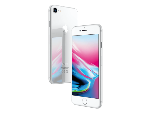 Refurbished iPhone 8 256GB silver A-grade