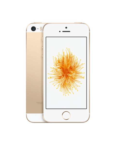 Refurbished iPhone SE 16GB goud