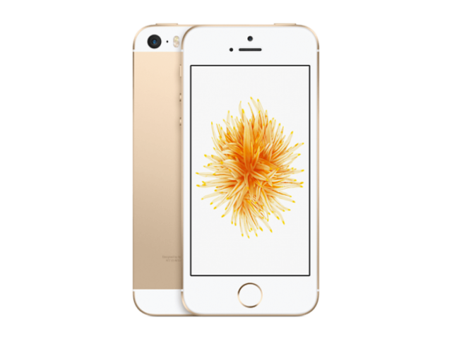 Refurbished iPhone SE 128GB goud B-grade