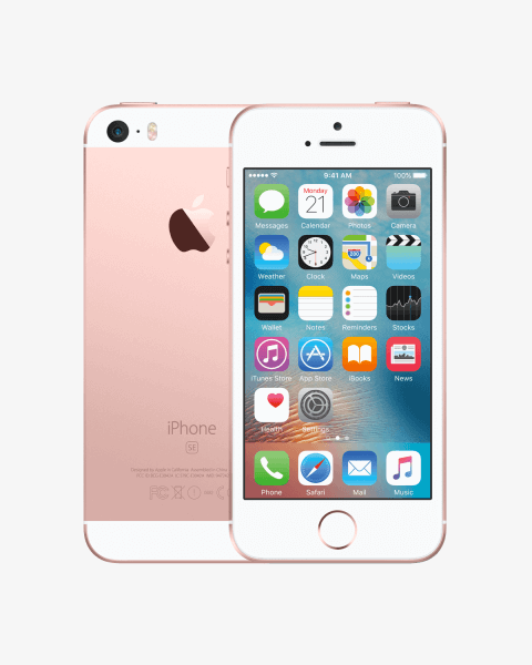 Refurbished iPhone SE 128GB rose goud