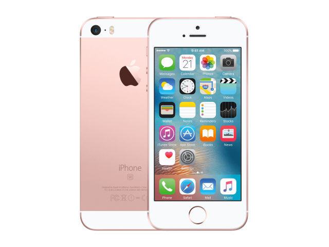 Refurbished iPhone SE 128GB rose goud B-grade