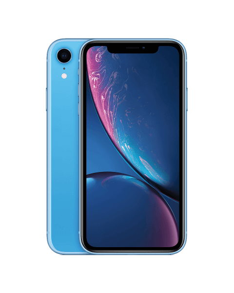 Refurbished iPhone XR 128GB blauw