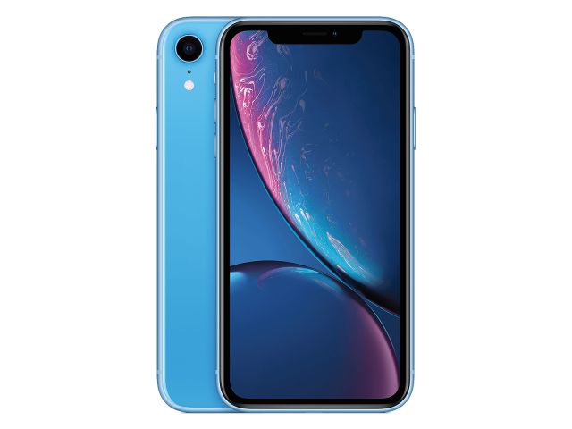 Refurbished iPhone XR 128GB blauw A-grade
