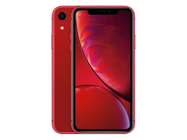 Refurbished iPhone XR 128GB rood B-grade