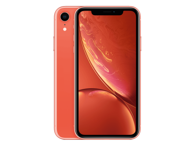 Refurbished iPhone XR 128GB roze B-grade
