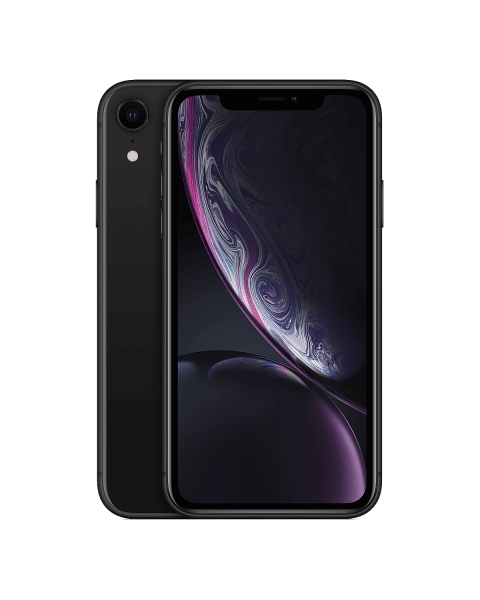 Refurbished iPhone XR 128GB zwart