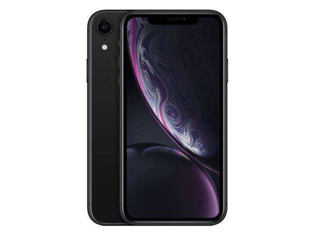 Refurbished iPhone XR 128GB zwart B-grade