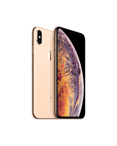 Refurbished iPhone XS Max 512GB goud