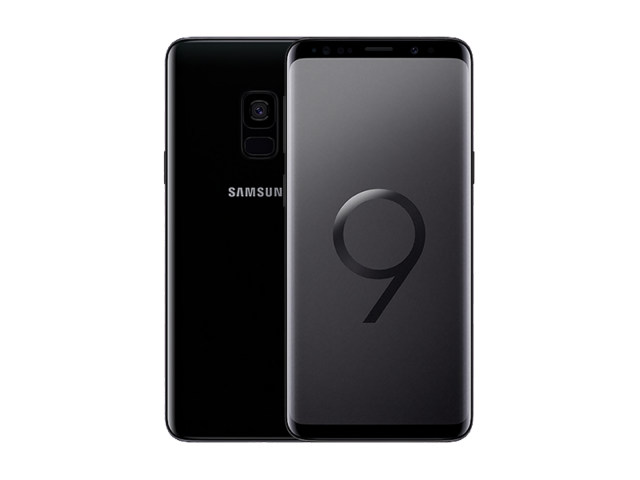 Refurbished Samsung Galaxy S9 64GB zwart A-grade