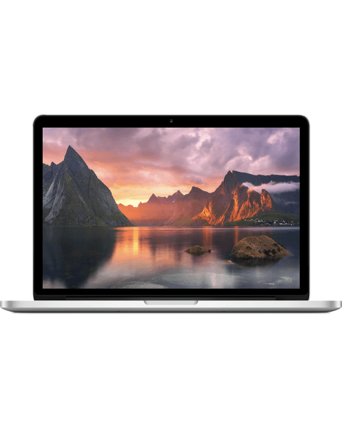 MacBook Pro 13-inch Core i5 2.8 GHz 256 GB 16 GB RAM Zilver (Mid 2014)