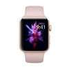 Refurbished Apple Watch Series 3 42mm GPS Aluminum Case Goud met roze sportbandje