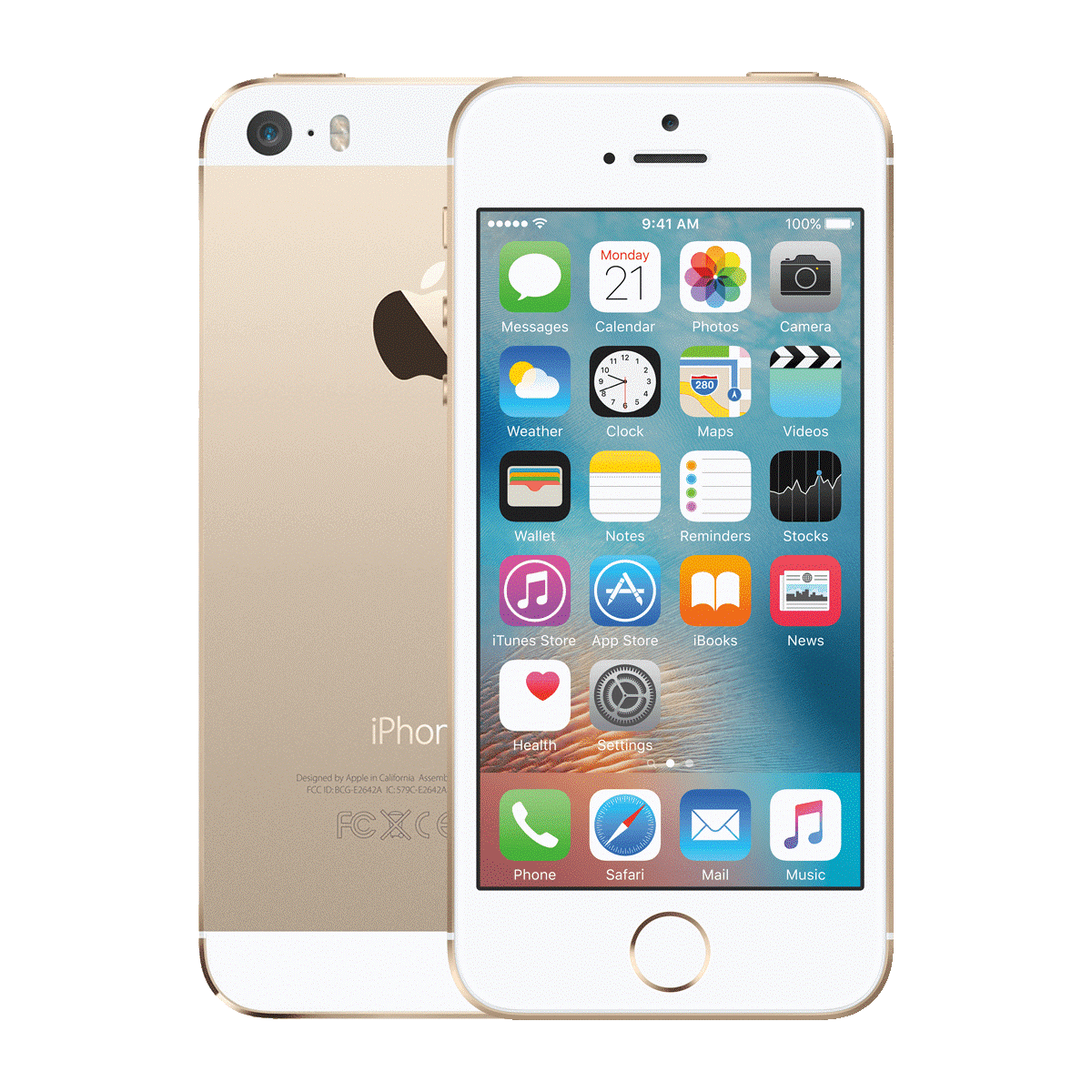 Refurbished Iphone 5s gold