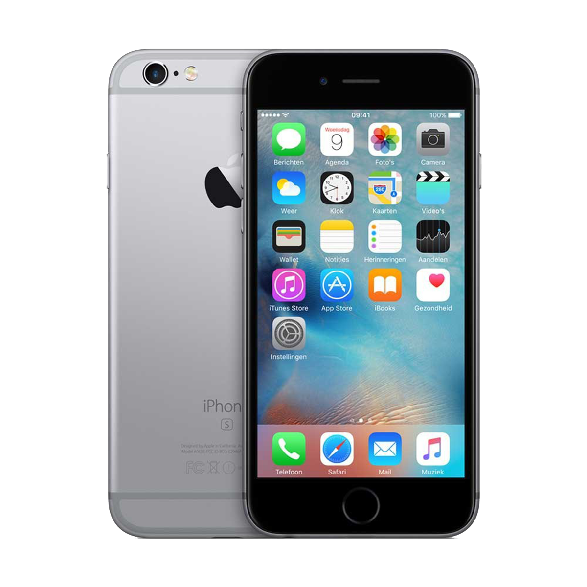 Refurbished Iphone 6s space gray